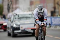 Leon Heinschke (DEU)<br /> <br /> Men Junior Individual Time Trial<br /> <br /> UCI 2017 Road World Championships - Bergen/Norway