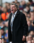 Tottenham's Sam Allardyce looks on dejected <br /> <br /> Barclays Premier League - Tottenham Hotspur  vs West Ham  - White Hart Lane - England - 22nd February 2015 - Picture David Klein/Sportimage