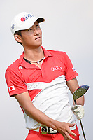 Kazuya OSAWA (JPN) watches his tee shot on 6 during Rd 3 of the Asia-Pacific Amateur Championship, Sentosa Golf Club, Singapore. 10/6/2018.<br /> Picture: Golffile | Ken Murray<br /> <br /> <br /> All photo usage must carry mandatory copyright credit (© Golffile | Ken Murray)