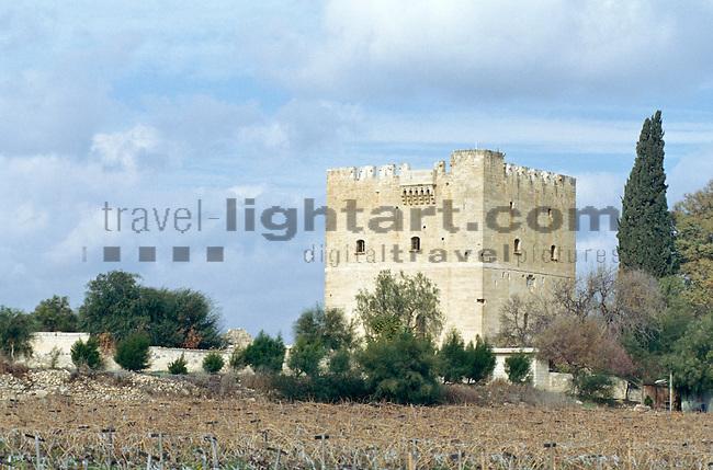 Kolossi Castle, near Limassol, Cyprus. Zypern.