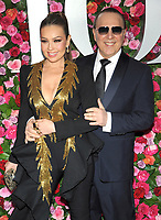NEW YORK, NY - JUNE 10: Thalia and Tommy Mottola attend the 72nd Annual Tony Awards at Radio City Music Hall on June 10, 2018 in New York City.  <br /> CAP/MPI/JP<br /> &copy;JP/MPI/Capital Pictures