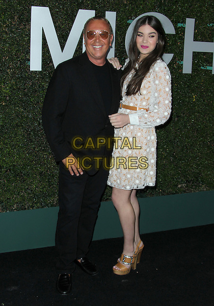 Beverly Hills, CA - October 2: Michael Kors, Hailee Steinfeld Attending Michael Kors Hosts Launch Of Claiborne Swanson Frank's &quot;Young Hollywood&quot; Portrait Book At Private Residence California on October 2, 2014.  <br /> CAP/MPI/RTNUPA<br /> &copy;RTNUPA/MediaPunch/Capital Pictures