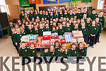 Pupils at Kilgobnet National School have brought Christmas spirit to children less fortunate by donating Christmas shoeboxes to the Team Hope appeal.