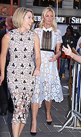 NEW YORK, NY-August 24: Amy Robach,  Sandra Lee at Good Morning Amerrica in New York. August 24, 2016. Credit:RW/MediaPunch