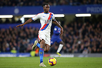 Aaron Wan-Bissaka of Crystal Palace races upfield during Chelsea vs Crystal Palace, Premier League Football at Stamford Bridge on 4th November 2018