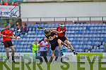 Kenmare in action against Crokes in the County Intermediate Final at Austin Stack Park Tralee on Sunday.