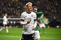 19th November 2019, Frankfurt, Germany; 2020 European Championships qualification, Germany versus Northern Ireland;  Julian Brandt Germany