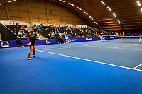 Alphen aan den Rijn, Netherlands, December 22, 2019, TV Nieuwe Sloot,  NK Tennis, Womans single final: Arianne Hartono (NED) vs Quirine Lemoine (NED) (R) before the start of the match<br /> Photo: www.tennisimages.com/Henk Koster