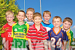 Annuscaul NS competitors at the Kerry Primary School Sports County Finals in An Riocht Castleisland l-r: James Ashe, Denny Barrett, Brendan McGovern, Gearoid Lyne, Jack Ferriter, Killian Falvey and Gavin McCarthy