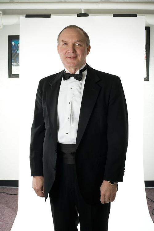 John W. Baughman at the Alumni Awards