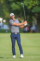 Dustin Johnson (USA) watches his approach shot on 18 during round 4 of the World Golf Championships, Mexico, Club De Golf Chapultepec, Mexico City, Mexico. 2/24/2019.<br /> Picture: Golffile | Ken Murray<br /> <br /> <br /> All photo usage must carry mandatory copyright credit (© Golffile | Ken Murray)