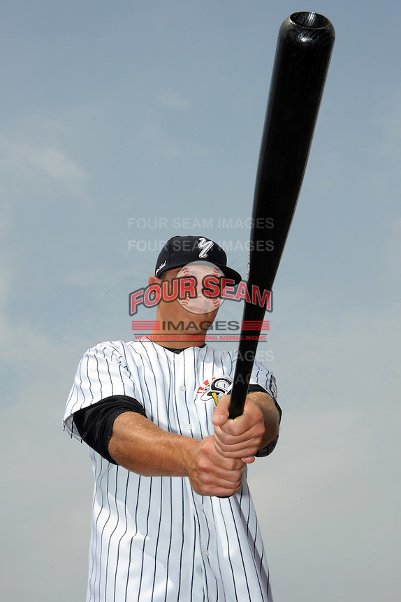 Staten Island Yankees outfielder Michael Ferraro (31) during first team workout at Richmond County Bank Ballpark at St. George in Staten Island, NY June 15, 2010.  Photo By Tomasso DeRosa/ Four Seam Images