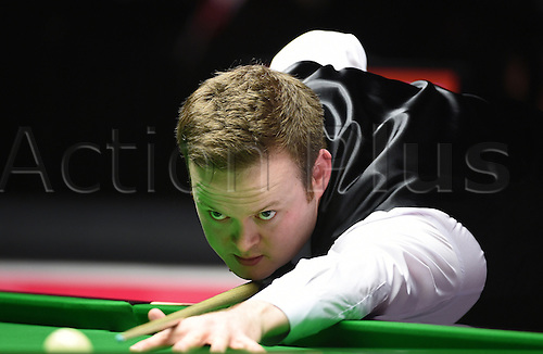 17.01.2015. Alexandra Palace,  London, England.  Masters Snooker Semi Final. Murphy pulls back a frame against Mark Allen