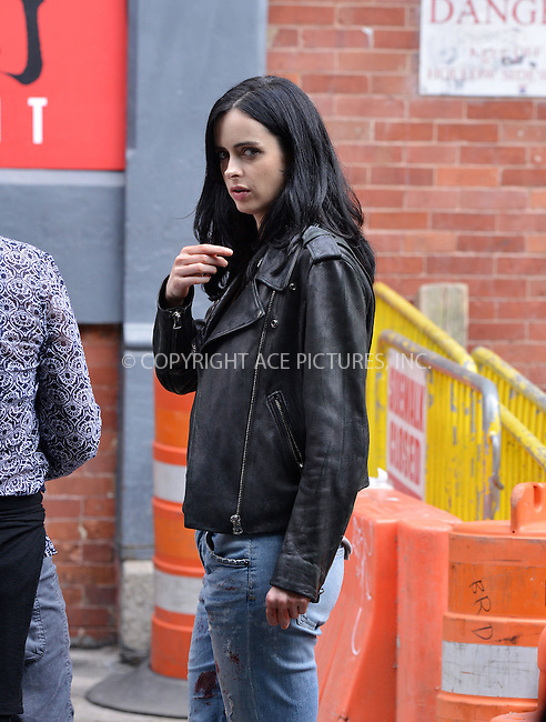 WWW.ACEPIXS.COM<br /> <br /> July 7 2015, New York City<br /> <br /> Actress Krysten Ritter was on the set of the TV show 'AKA Jessica Jones' on July 7 2015 in New York City<br /> <br /> By Line: Curtis Means/ACE Pictures<br /> <br /> <br /> ACE Pictures, Inc.<br /> tel: 646 769 0430<br /> Email: info@acepixs.com<br /> www.acepixs.com