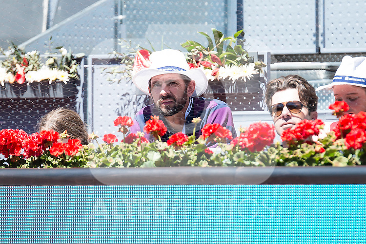 Ex basketball player and tv host Nikola Loncar during Mutua Madrid Open Tennis 2016 in Madrid. May 2, 2016. (ALTERPHOTOS/BorjaB.Hojas)