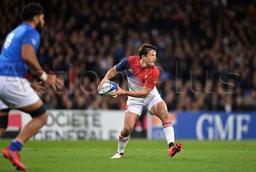 12.11.2016. Stadium Toulouse, Toulouse, France. Autumn International rugby match, France versus Samoa.  Francois Trinh Duc (fra)