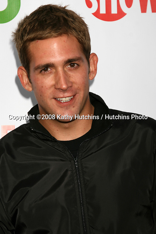 Eric Dzmanda arriving at the CBS TCA Summer 08 Party at Boulevard 3 in Los Angeles, CA on.July 18, 2008.©2008 Kathy Hutchins / Hutchins Photo .