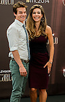 """Amelia Heinle, Greg Rikaart from serie """"The Young and the Restless"""" attends photocall at the Grimaldi Forum on June 9, 2014 in Monte-Carlo, Monaco."""