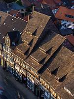 Fachwerkhäuser Tiedexer Str. 16. Jh.  , Einbeck, Niedersachsen, Deutschland, Europa<br /> Halftimbered houses, Tiedexer St. 16. c., Einbeck, Lower Saxony, Germany, Europe