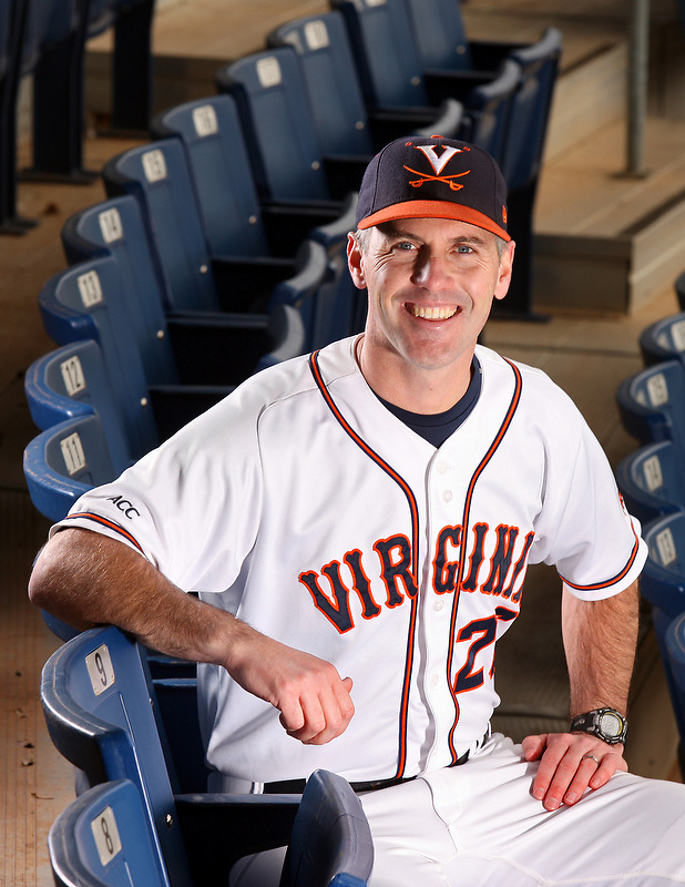 Brian O'Connor is UVa's head coach. Photo/Andrew Shurtleff