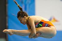 Tania Cagnotto ITA<br /> 3m Springboard Women preliminary<br /> Day 06 14/06/2015  <br /> 2015 Arena European Diving Championships<br /> Neptun Schwimmhalle<br /> Rostock Germany 09-14 June 2015 <br /> Photo Giorgio Perottino/Deepbluemedia/Insidefoto