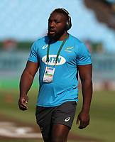 PRETORIA, SOUTH AFRICA - OCTOBER 06: Tendai Mtawarira of South Africa during the Rugby Championship match between South Africa Springboks and New Zealand All Blacks at Loftus Versfeld Stadium. on October 6, 2018 in Pretoria, South Africa. Photo: Steve Haag / stevehaagsports.com