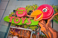 Crow's Nest Toy Store, Universal City, California, City Walk, Citywalk, Universal studios, holiday,  travel, us, usa, vacation,