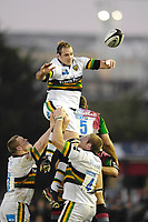 Twickenham. GREAT BRITAIN, Saints, Sub, Mark EASTER, collects the line out ball, during the, Guinness Premiership game between, NEC Harlequins and Northamption Saints, on Sat., 04/11/2006, played at the Twickenham Stoop, England. Photo, Peter Spurrier/Intersport-images].....