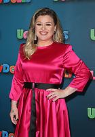 "13 April 2019 - Beverly Hills, California - Kelly Clarkson. STX Entertainment's ""UglyDolls"" Photo Call  held at The Four Seasons Hotel. Photo Credit: Faye Sadou/AdMedia"