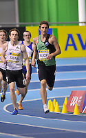 Photo: Tony Oudot/Richard Lane Photography. Aviva World Trials & UK Championships. 13/02/2010. .Mens 400m. .Richard Buck and Patrick Swan.