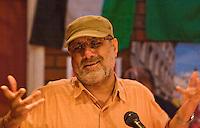 Surinder Cheema speaking at the Memorial Meeting honouring Godfrey Cremer's life, Saklatvala Hall, Southall, 12th May 2012