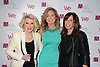 Joan Rivers, Kim Martin and Melissa Rivers attend the 2013 Matrix Awards on April 22, 2013 at the Waldorf Astoria Hotel in New York City. The New York Women in Communications presented the awards.