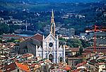 Igreja em Florença, Itália. 1996. Foto de Juca Martins.