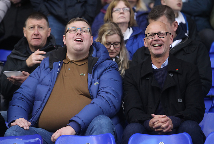 Preston North End's Fans anticipate the kick-off<br /> <br /> Photographer Mick Walker/CameraSport<br /> <br /> The EFL Sky Bet Championship - Birmingham City v Preston North End - Saturday 1st December 2018 - St Andrew's - Birmingham<br /> <br /> World Copyright &copy; 2018 CameraSport. All rights reserved. 43 Linden Ave. Countesthorpe. Leicester. England. LE8 5PG - Tel: +44 (0) 116 277 4147 - admin@camerasport.com - www.camerasport.com