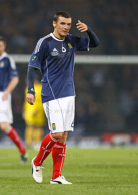 Lee McCulloch, Scotland