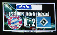 Fussball Bundesliga 2012/13: FC Bayern Muenchen - Hamburger SV