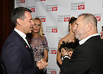 Andrew Lippa and Harvey Weinstein attends the Dramatists Guild Fund Gala 'Great Writers Thank Their Lucky Stars : The Presidential Edition' at Gotham Hall on November 7, 2016 in New York City.