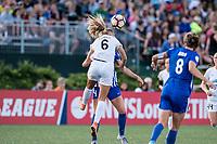 Boston, MA - Friday August 04, 2017: Katie Bowen during a regular season National Women's Soccer League (NWSL) match between the Boston Breakers and FC Kansas City at Jordan Field.