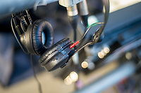 Radio Headphones <br /> Re: Behind the Scenes Photographs at the Liberty Stadium ahead of and during the Premier League match between Swansea City and Bournemouth at the Liberty Stadium, Swansea, Wales, UK. Saturday 25 November 2017