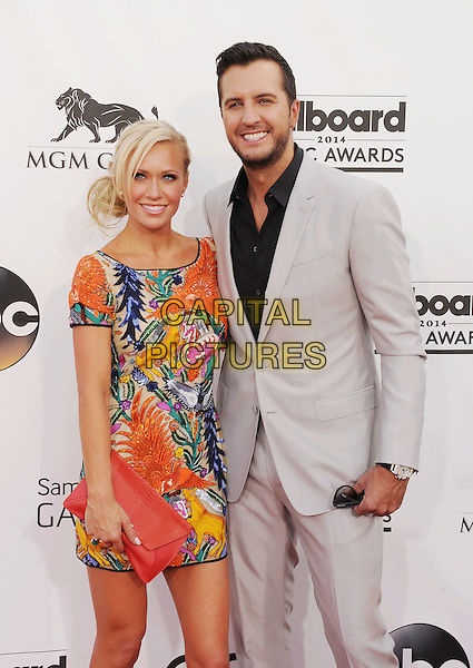 LAS VEGAS, CA- MAY 18: Luke Bryan; Caroline Bryan arrives at the 2014 Billboard Music Awards at the MGM Grand Garden Arena on May 18, 2014 in Las Vegas, Nevada.<br /> CAP/ROT/TM<br /> &copy;TM/Roth Stock/Capital Pictures