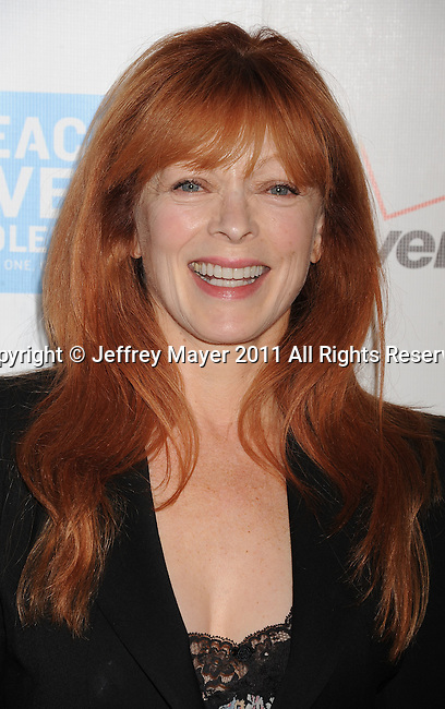 BEVERLY HILLS, CA - OCTOBER 28: Frances Fisher arrives at Peace Over Violence 40th Annual Humanitarian Awards dinner at Beverly Hills Hotel on October 28, 2011 in Beverly Hills, California.