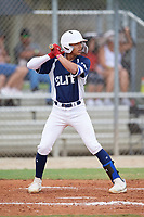 Ryan Oniel Cepero Roman (19) during the WWBA World Championship at the Roger Dean Complex on October 12, 2019 in Jupiter, Florida.  Ryan Oniel Cepero Roman attends Carlos Beltran Baseball Academy in Arecibo, PR and is Uncommitted.  (Mike Janes/Four Seam Images)