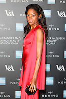 Naomie Harris arriving for the Alexander McQueen: Savage Beauty Fashion Gala at the V&A, London. 12/03/2015 Picture by: Alexandra Glen / Featureflash