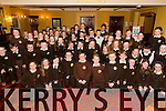 Corfheile na mBunscoileanna Eight Kerry schools are coming together for choir performances to celebrate seachtain na gaeilge at the Meadowlands Hotel on Thursday Pictured Gaelscoil Mhic Easmainn