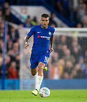 Kenedy of Chelsea during the Carabao Cup (Football League cup) 23rd round match between Chelsea and Nottingham Forest at Stamford Bridge, London, England on 20 September 2017. Photo by Andy Rowland.