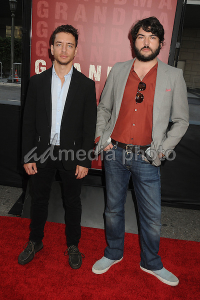"10 June 2015 - Los Angeles, California - Andrew Perez, AD Freese. LA Film Festival 2015 Opening Night Premiere of ""Grandma"" held at Regal Cinemas LA Live. Photo Credit: Byron Purvis/AdMedia"