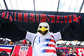 February 2nd 2019, San Jose, California, USA; USA supporter during the international friendly match between USA and Costa Rica at Avaya Stadium on February 2, 2019 in San Jose CA.