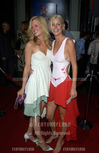 Actresses TESS PARKER & JULIANNE STEGER at the Los Angeles premiere of their new movie Wonderland..Sept 24, 2003