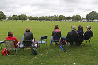 General view of play during Upminster CC vs Essex CCC, Benefit Match Cricket at Upminster Park on 10th September 2017