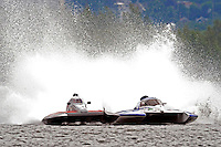 2.5 Litre Stock class hydroplanes.Syracuse Hydrofest, Onondaga Lake, Syracuse, NY.20/21 June, 2009, Dayton, OH USA..©F. Peirce Williams 2009 USA.F.Peirce Williams.photography.ref: RAW (.NEF) File Available
